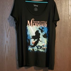 Torrid Little Mermaid Graphic Tee